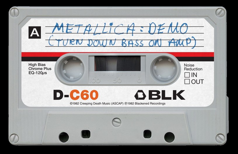 """""""Metallica"""" nadal kocha analogowy dźwięk z kasety... /materiały prasowe"""