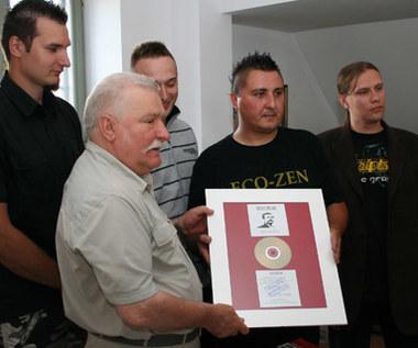 Metalowcy u Lecha Wałęsy