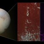 Metanowy śnieg na Plutonie