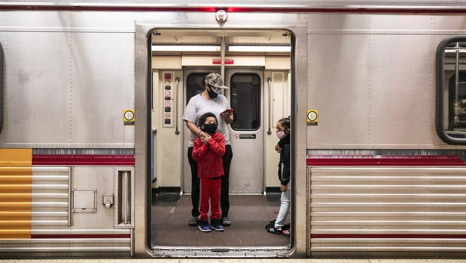Metro w Los Angeles /ETIENNE LAURENT /PAP/EPA