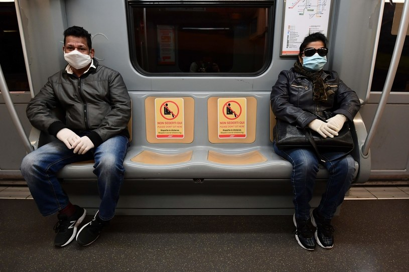 Metro w Mediolanie /AFP
