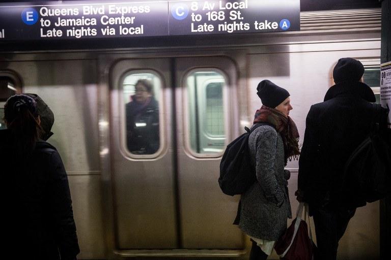 Metro w Nowym Jorku, zdj. ilustracyjne /AFP