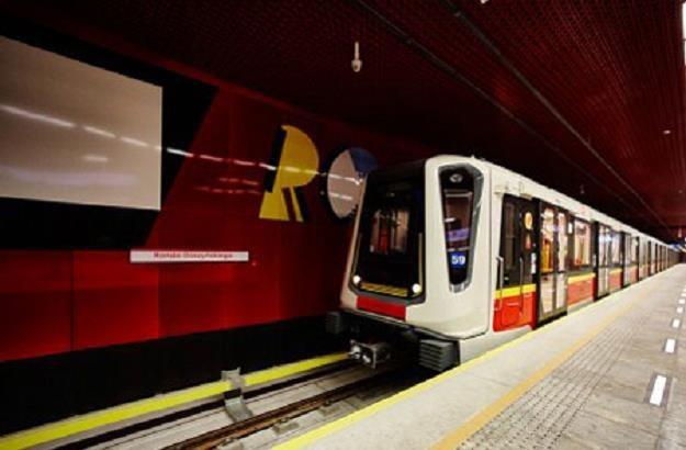 Metro w Warszawie ze składami Inspiro /Informacja prasowa