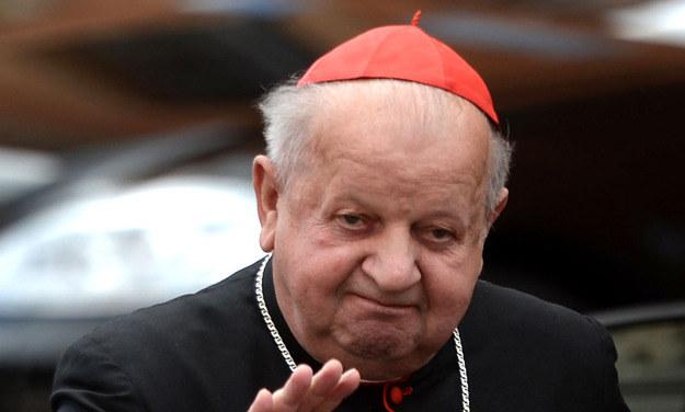 Metropolita krakowski kard. Stanisław Dziwisz. /AFP