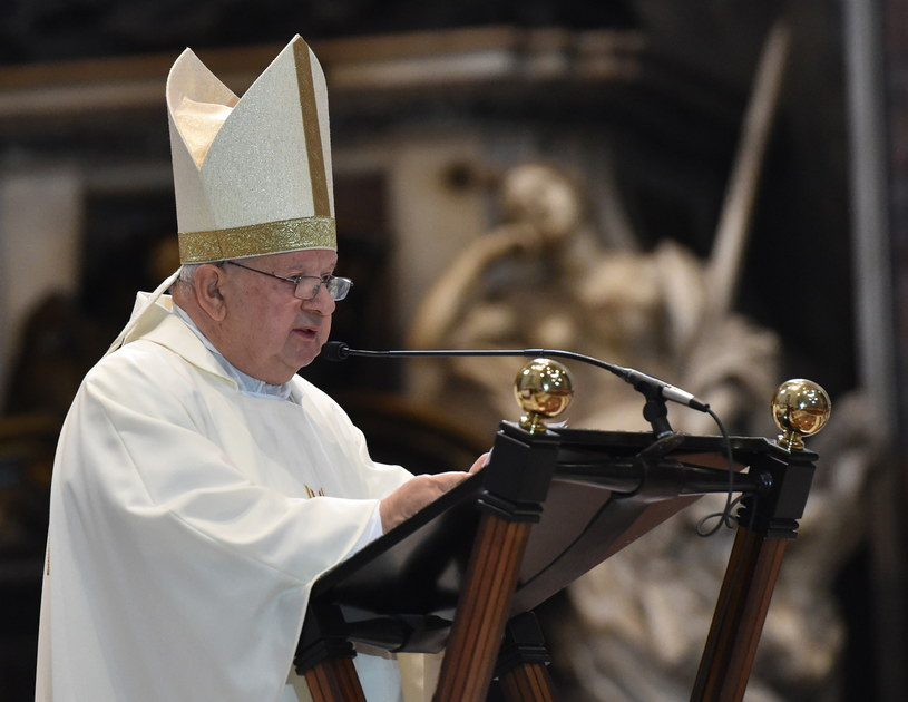 Metropolita krakowski, kardynał Stanisław Dziwisz /Jacek Bednarczyk /PAP