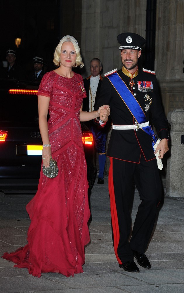 Mette-Marit i Książę Haakon /- /Getty Images