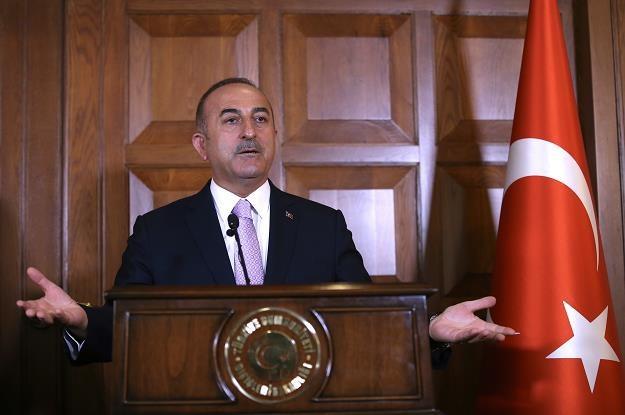 Mevlut Cavusoglu, minister spraw zagranicznych Turcji /EPA