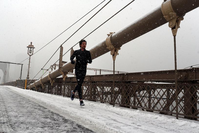 Mężczyzna biega w Nowym Jorku /AFP