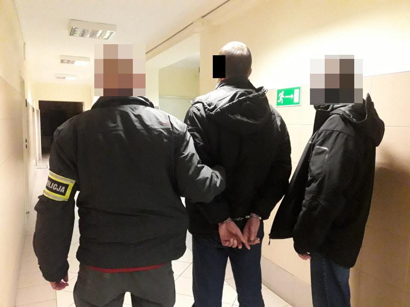 Mężczyzna był już wcześniej notowany i ośmiokrotnie przebywał w zakładzie karnym /Komenda Stołeczna Policji w Warszawie /materiały prasowe