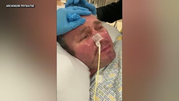 Mężczyzna doznał zatrzymania pracy serca na co najmniej 45 minut /Polsat News