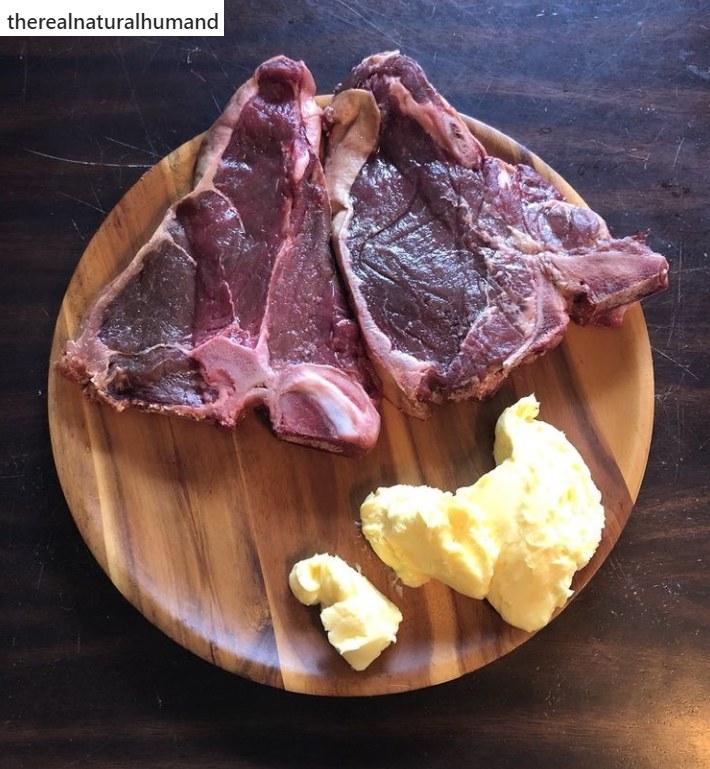Mężczyzna odrzucił przetworzoną żywność i spożywa m.in. surowe mięso oraz jajka od lokalnych dostawców /Instagram