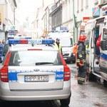 Mężczyzna podpalił się w sklepie. Lekarze walczą o jego życie