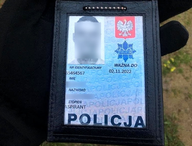 Mężczyzna przez lata okłamywał żonę, że jest policjantem /Policja Podlaska /Policja