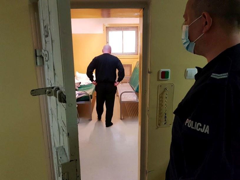 Mężczyzna trafił do celi /Policja
