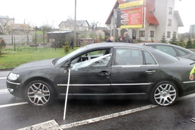 Mężczyzna uciekał VW Phaetonem /Policja