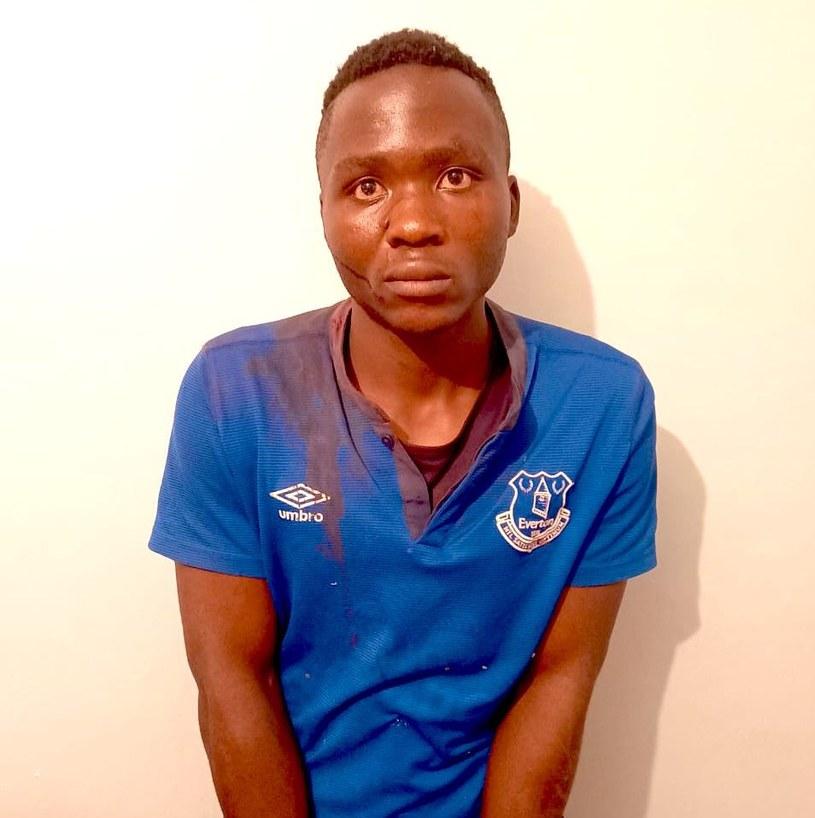 Mężczyzna z niektórych ofiar miał wyssać krew /DCI KENYA /Twitter