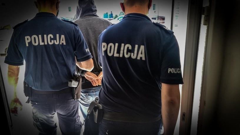 Mężczyzna zatrzymany za podglądanie kobiety w przymierzalni /KMP Białystok /