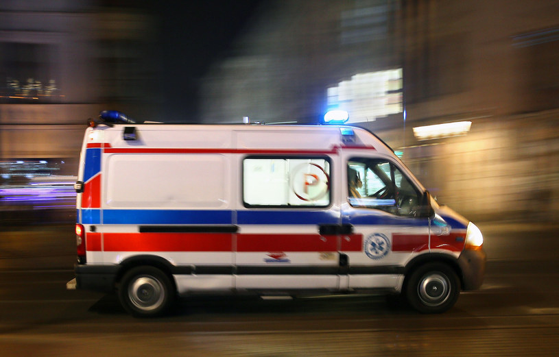 Mężczyzna zmarł, zdjęcie ilustracyjne /Damian Klamka /East News