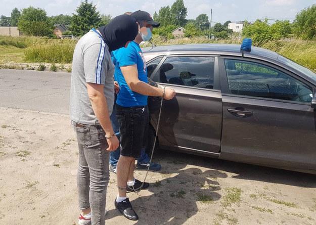 Mężczyzna został aresztowany /Policja Mazowiecka  /