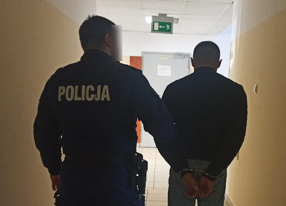 Mężczyzna został zatrzymany przez policję /Policja