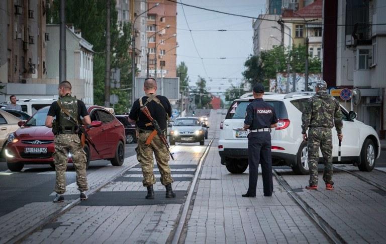 Mężczyzna został zatrzymany w Doniecku, zdj. ilustracyjne /AFP