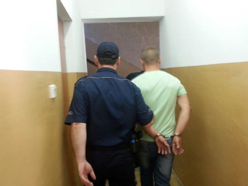 Mężczyzna został zatrzymany /Policja