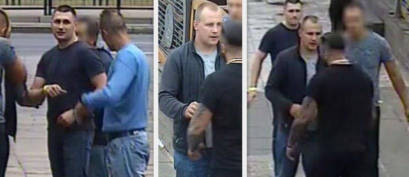 Mężczyźni, którzy prawdopodobnie pobili 27-latka /KWP Gdańsk /Policja