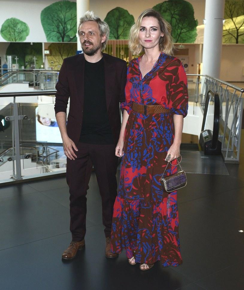 Mężem Zuzanny Grabowskiej jest znany muzyk - Paweł Domagała /VIPHOTO /East News