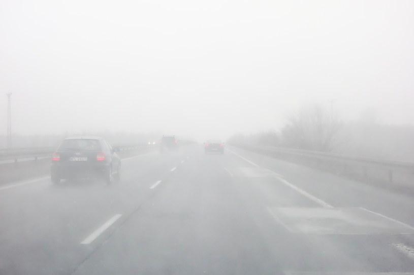 Mgła na drodze; zdj. ilustracyjne /Piotr Kamionka /Reporter
