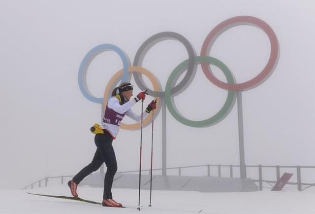 Mgła sparaliżowała igrzyska w Soczi /Hendrik Schmidt /PAP/EPA