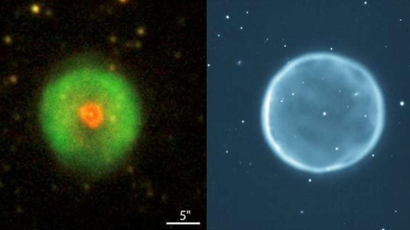 Mgławica planetarna HuBi 1 /materiały prasowe