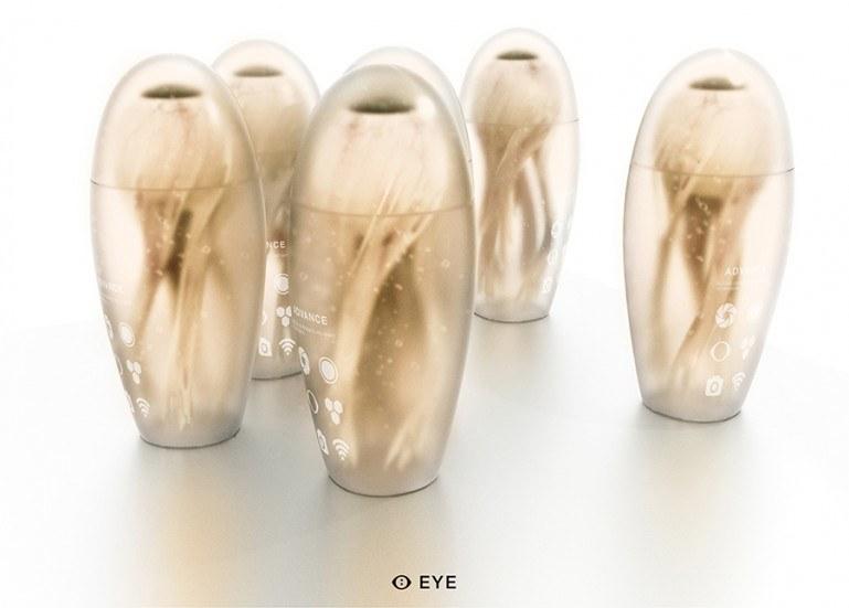 MHOX EYE to odważny koncept syntetycznych gałek ocznych /materiały prasowe