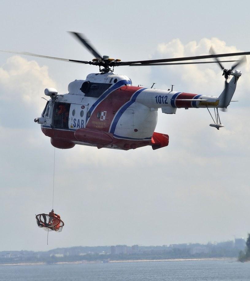 Mi-14 w akcji /Przemek Swiderski/REPORTER /East News