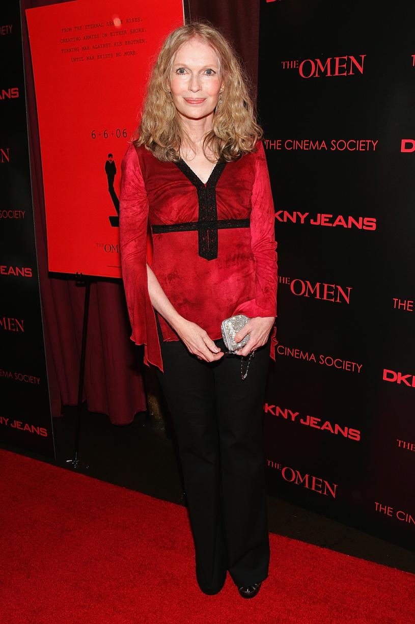 Mia Farrow /Evan Agostini /Getty Images