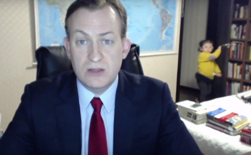 Miało być poważnie, ale się nie udało! /BBC News /YouTube