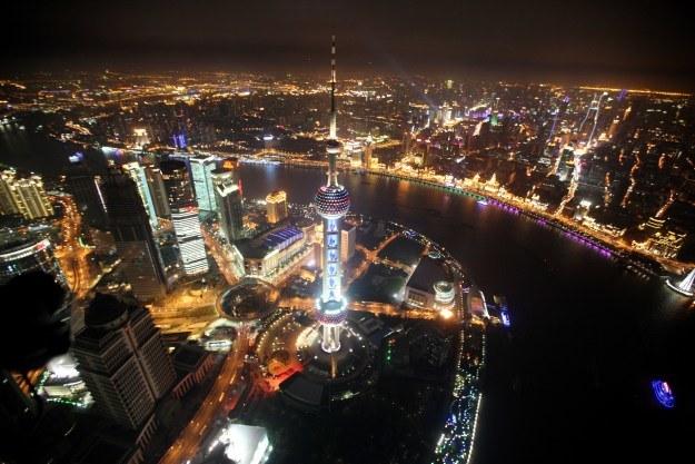 Miasta jutra projektuje się już dzisiaj - tu Szanghaj /AFP