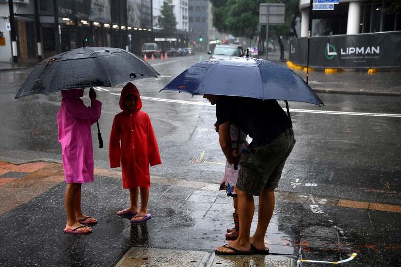Miasta maja problem z deszczówką /AFP