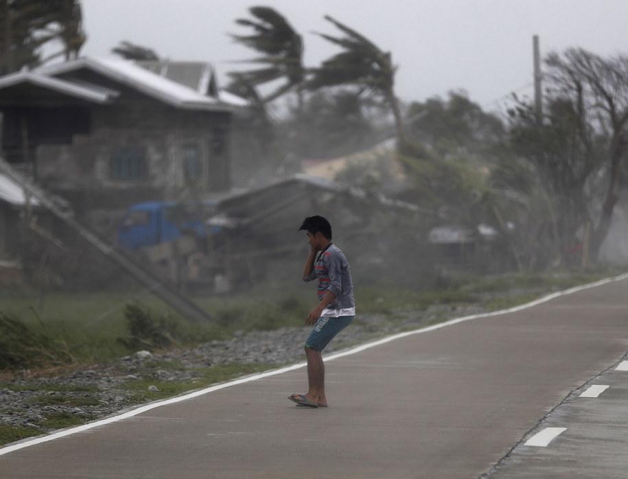 Miasto Baggao w prowincji Cagayan /FRANCIS R. MALASIG /PAP/EPA