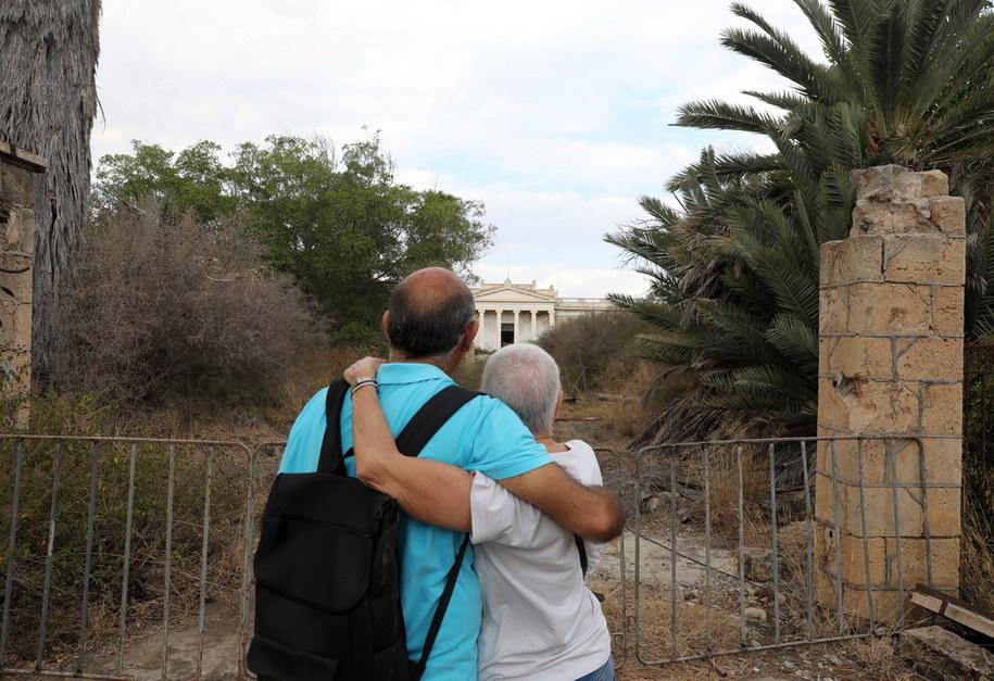 MIasto-widmo Famagusta na Cyprze Północnym /KATIA CHRISTODOULOU  /PAP/EPA