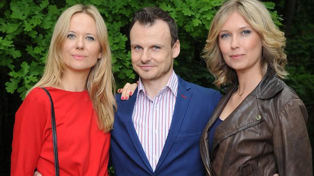 Micha i jego dwie kobiety - żona i kochanka /Agencja W. Impact