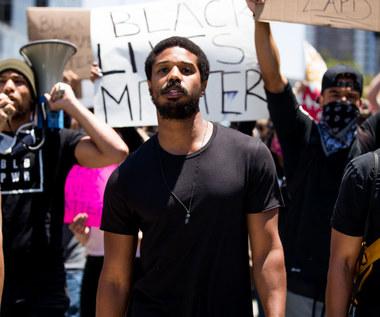 Michael B. Jordan wzywa Hollywood do inwestowania w czarnoskórych artystów