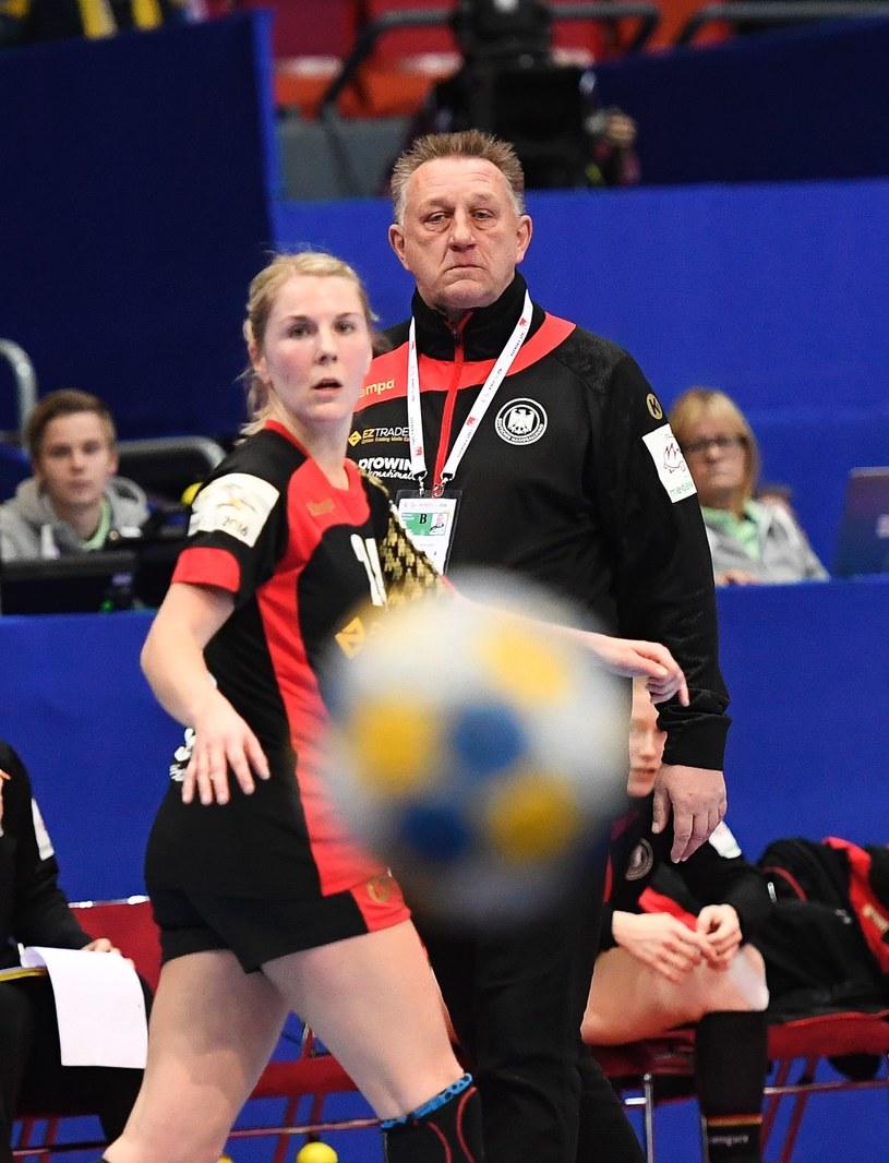 Michael Biegler - trener reprezentacji Niemiec /AFP