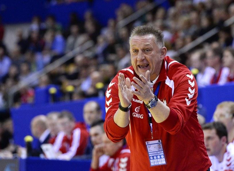 Michael Biegler, trener reprezentacji w piłce ręcznej /AFP