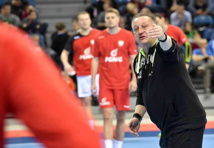 Michael Biegler wciąż ma dużo uwag do swych zawodników /Jacek Bednarczyk /PAP