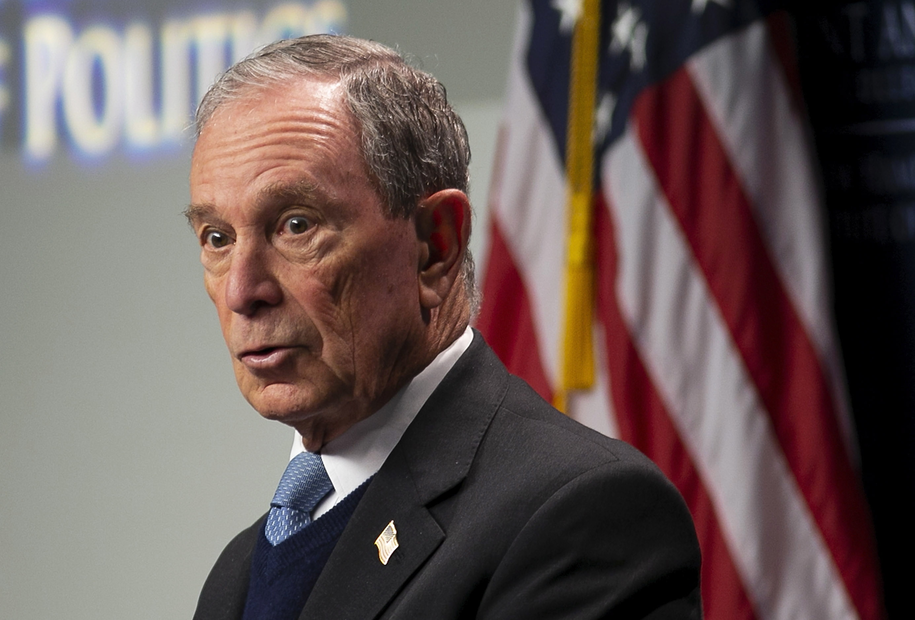 Michael Bloomberg /CJ GUNTHER /PAP/EPA
