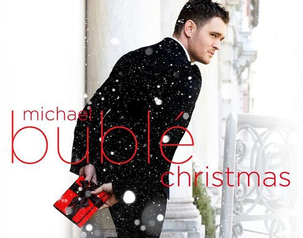 "Michael Bublé na okładce albumu ""Christmas"" /"