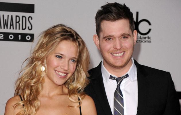 Michael Buble z żoną /Jason Merritt /Getty Images