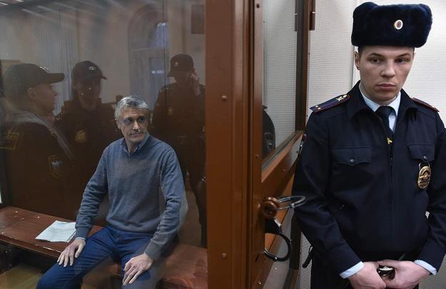 Michael Calvey w moskiewskim sądzie /AFP