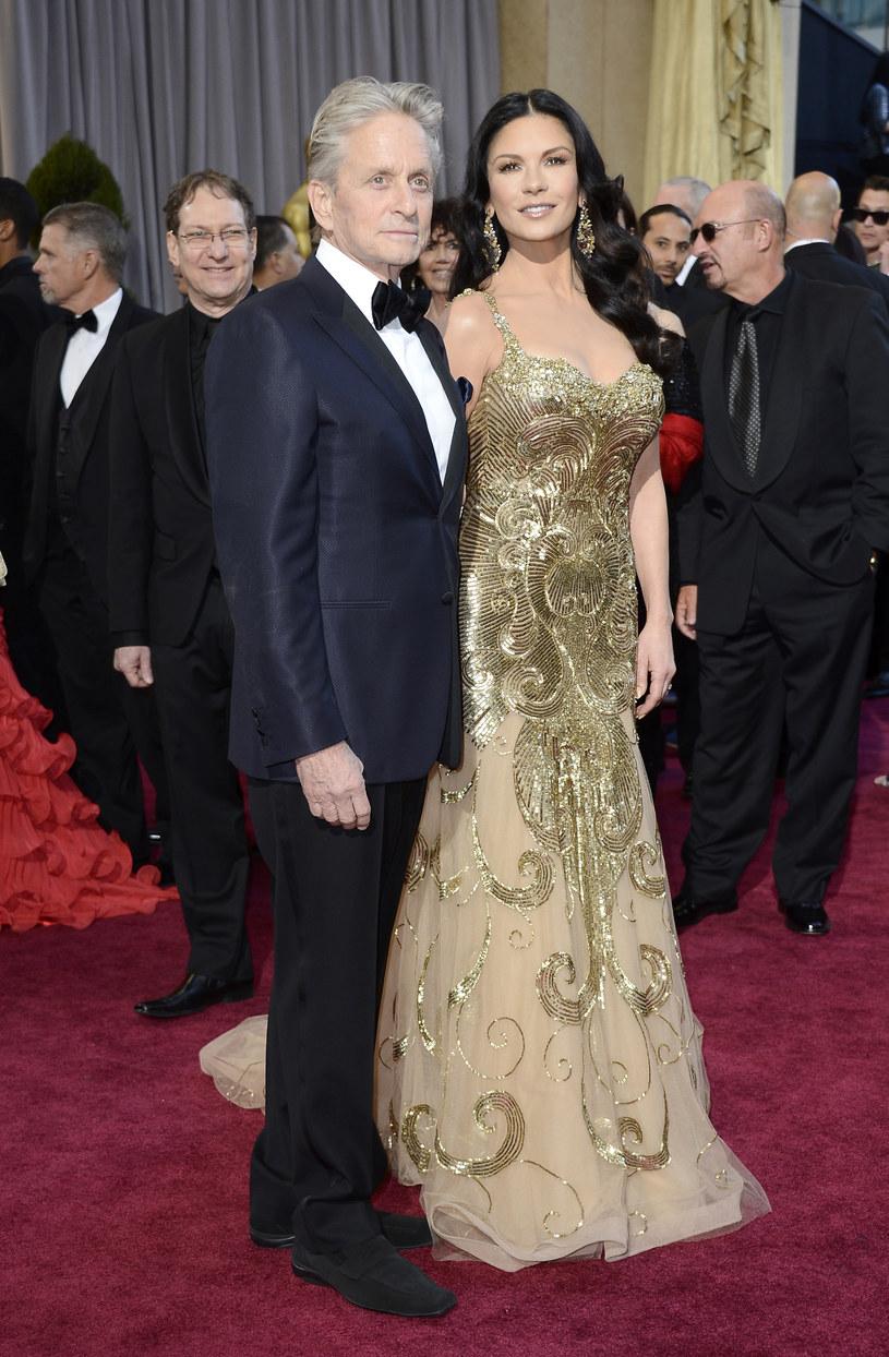 Michael Douglas, Catherine Zeta-Jones /Frazer Harrison /Getty Images