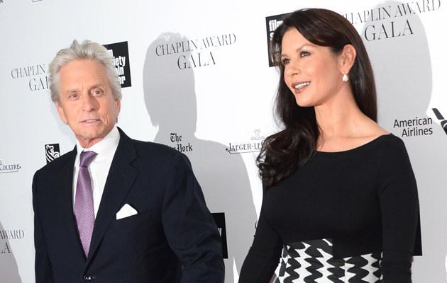 Michael Douglas, Catherine Zeta-Jones / Michael Loccisano /Getty Images